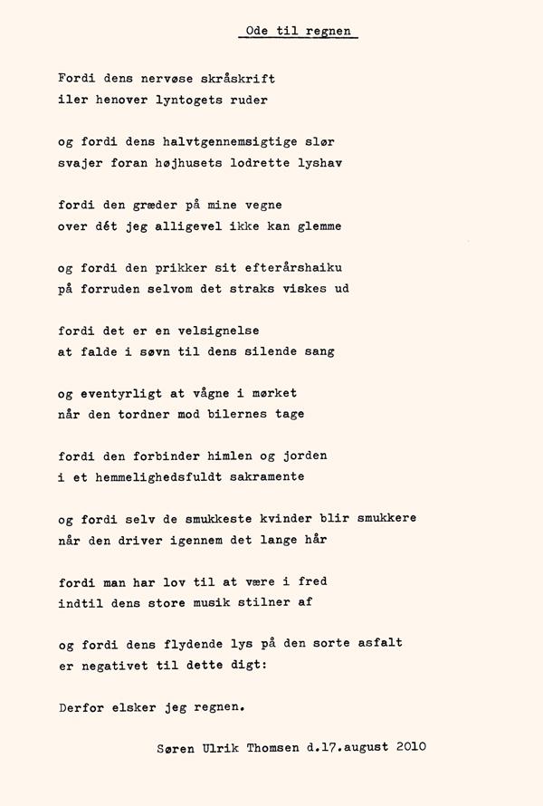 Synne Rifbjerg: Hymne